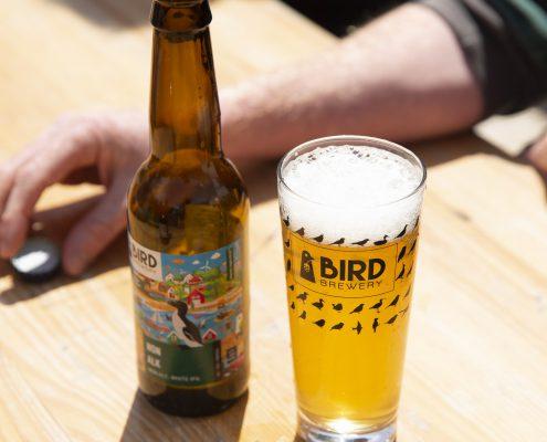 Menu Bier House of Bird