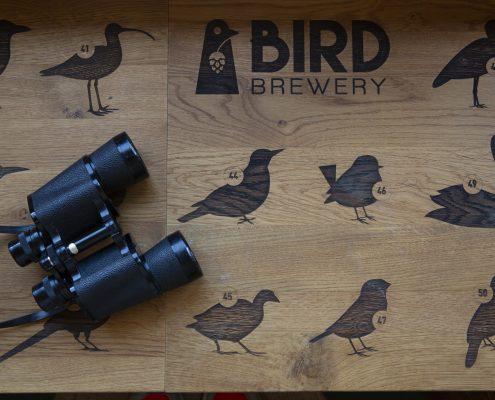 Vogels spotten als activiteit bij House of Bird
