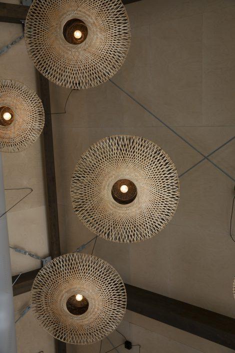 Lampen proeflokaal House of Bird